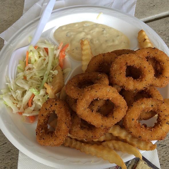 Fried Calamari @ Portside Cafe