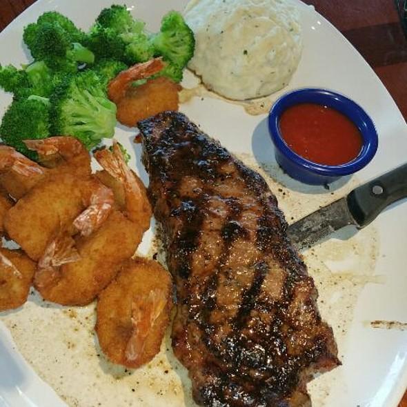 New York Steak With Fried Shrimp @ Red Lobster