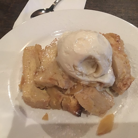 Apple Bread Pudding @ Café Zona Sur