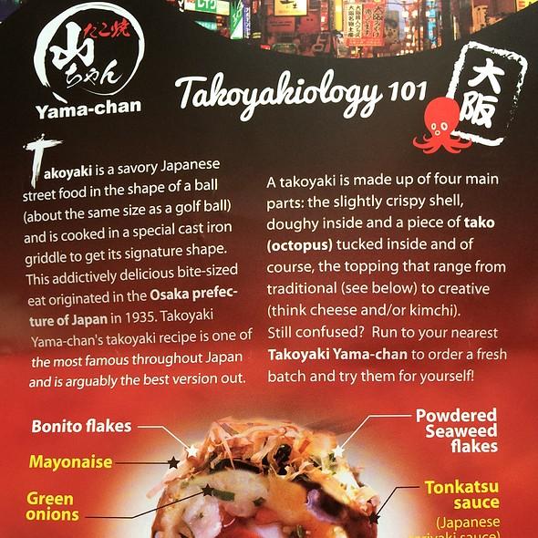 Takoyaki 101 @ Takoyaki Yama Chan - Shirokiya