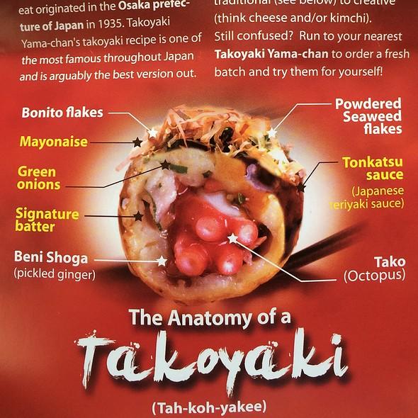 Anatomy Of Takoyaki @ Takoyaki Yama Chan - Shirokiya