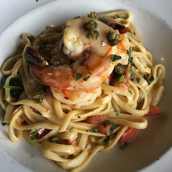 Scampi Wild Prawn Linguini - Portland City Grill, Portland, OR