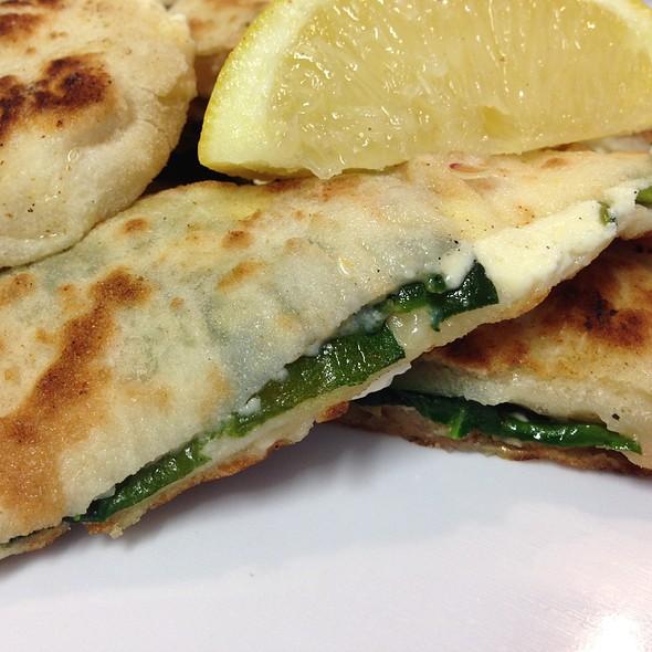 Chicken, Spinach & Fetta Gozleme
