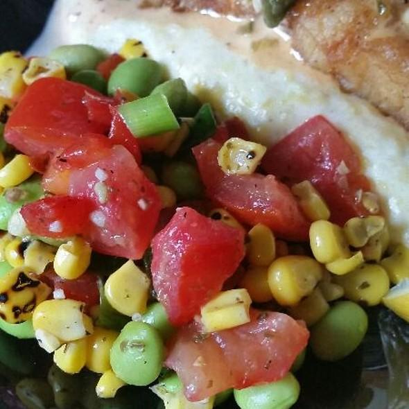 Roasted Corn and Tomato Salad @ Kroger
