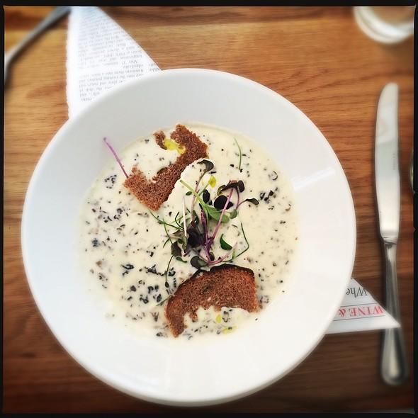 Mushroom soup @ Salon Seurahuone Oy