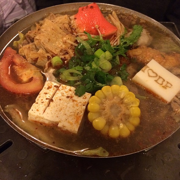 Seafood And Tofu Hot Soup @ Boiling Point