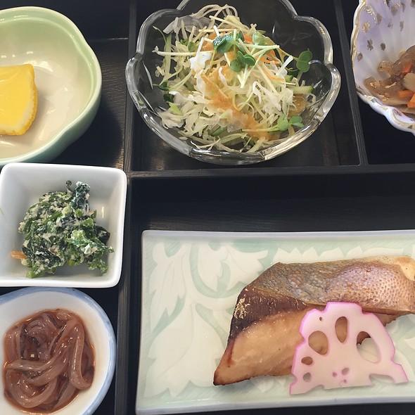 Japanese Breakfast @ 萩観光ホテル