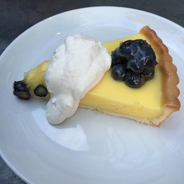 Lemon Tart With Blueberry @ Cucina