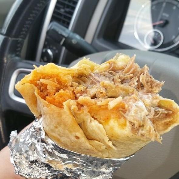Carnitas Super Burrito @ Establos Meat Market
