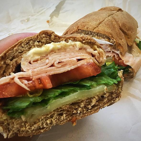 Smoked Turkey Sandwich @ Pa'Ina Cafe