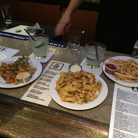 Small plates @ Ink Eats & Drinks