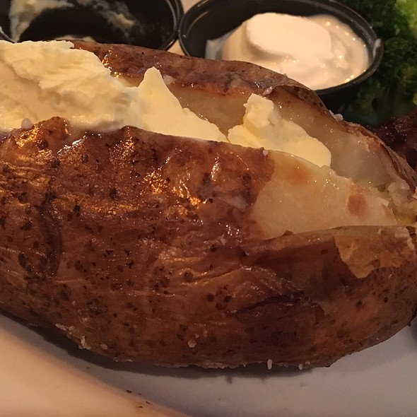 Baked Potato With Butter @ Miller's Ale House-Winter Park