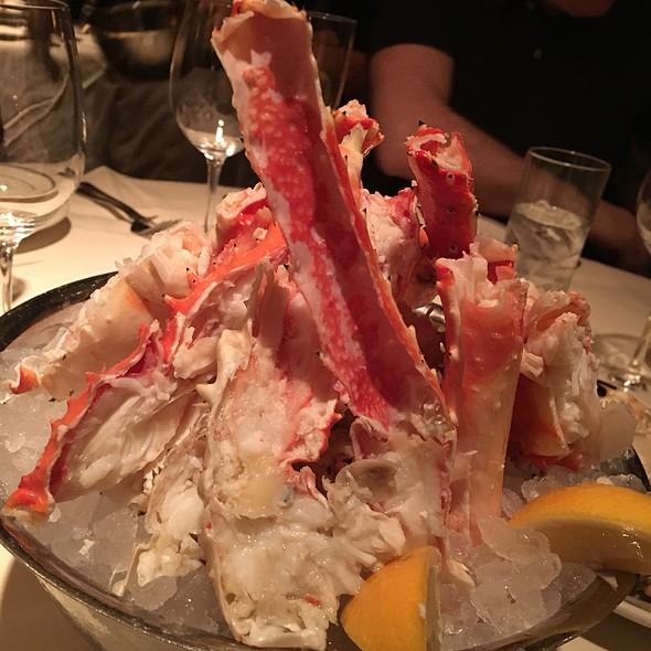 Colossal Alaskan King Crab legs @ Joe's Seafood, Prime Steak & Stone Crab - Las Vega