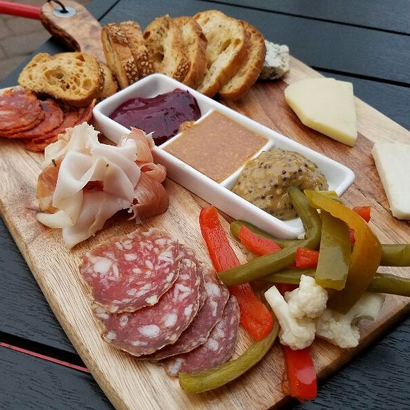 Cheese And Meat Board  @ Hawthornes