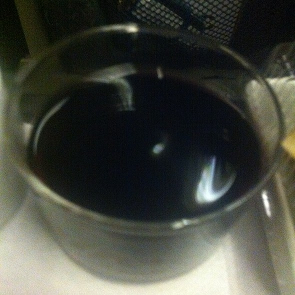 Red Wine @ Via Rail Montreal-Toronto