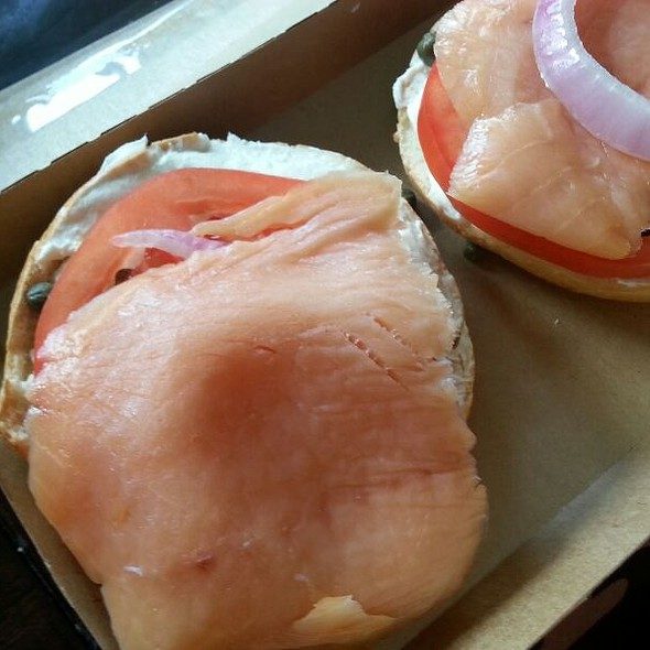 Lox And Bagel @ Einstein Bros Bagels