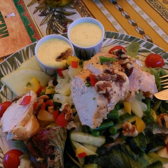 Chicken Salad With Curri Souce