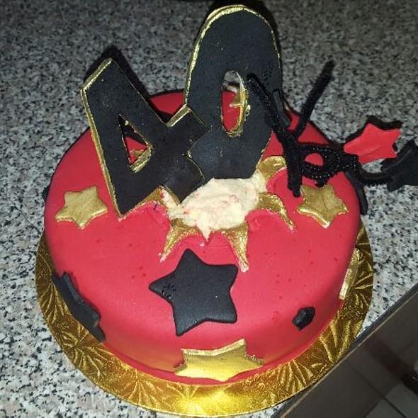 Birthday cake @ Ash's Kitchen