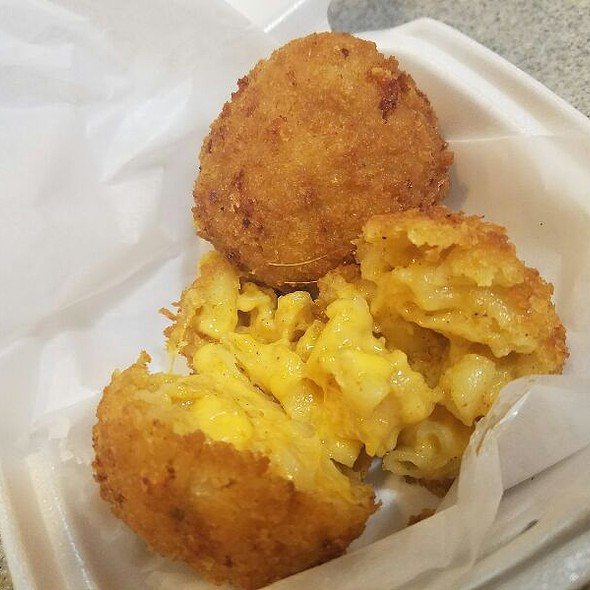 Fried Mac and Cheese @ Beck's Cajun Cafe