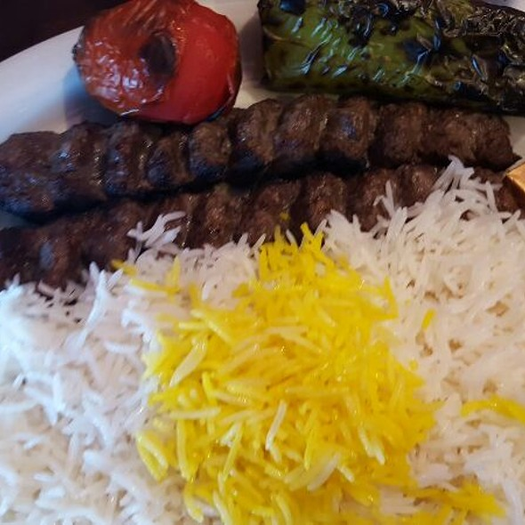 Koobideh (Ground Beef) Kabob