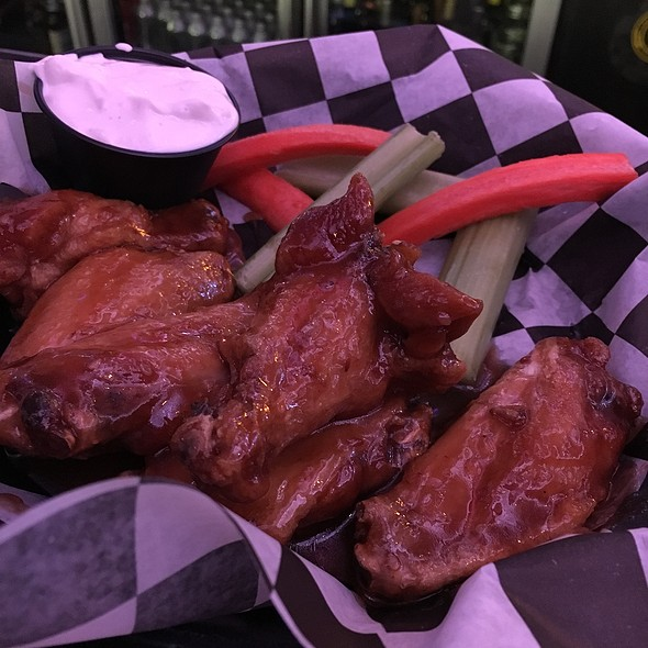 Asian Wings @ The Game At Blue Chip