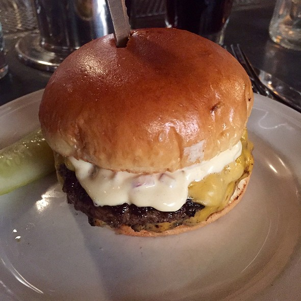 Double Cheese Burger @ Au Cheval
