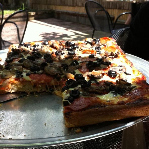 Sicilian Pizza @ Carmine's II