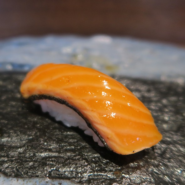 Torched Japanese King Salmon