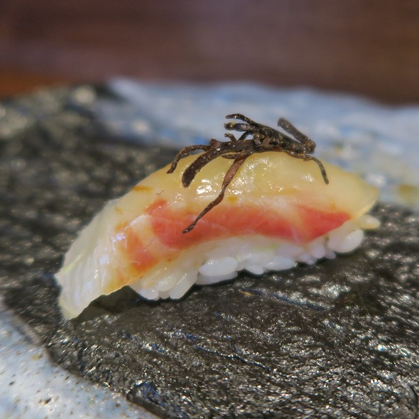 Red Snapper With Dried Seaweed