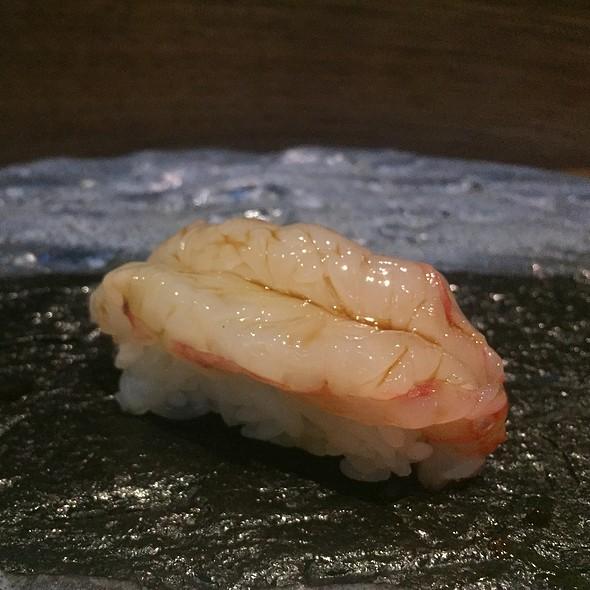 Japanese Amaebi Sushi
