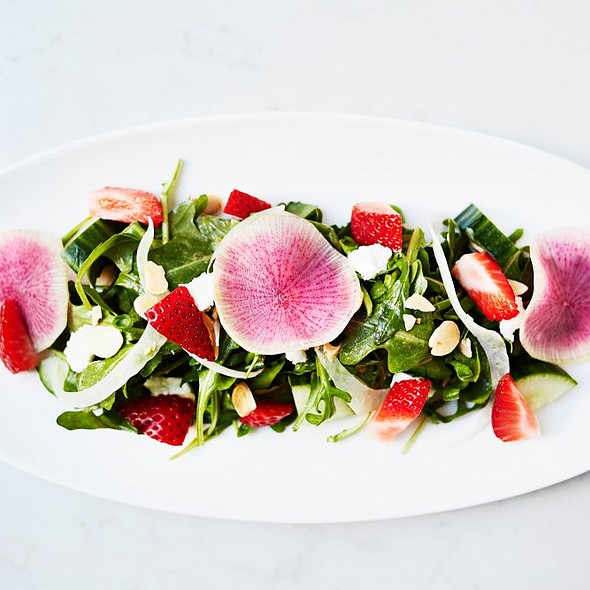 Strawberry Salad @ Atwood