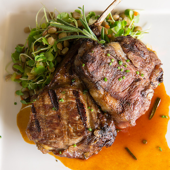 Grilled Lamb Chop Duet @ Glenmorgan Bar & Grill