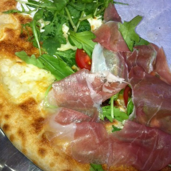 Bianca Prosciutto Pizza  - Naples 45 Ristorante E Pizzeria, New York, NY