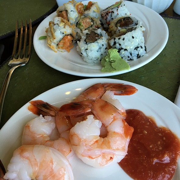 Sushi And Shrimp  - Caretta on the Gulf at the Sandpearl Resort, Clearwater Beach, FL