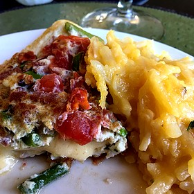 Omelet And Potato Casserole