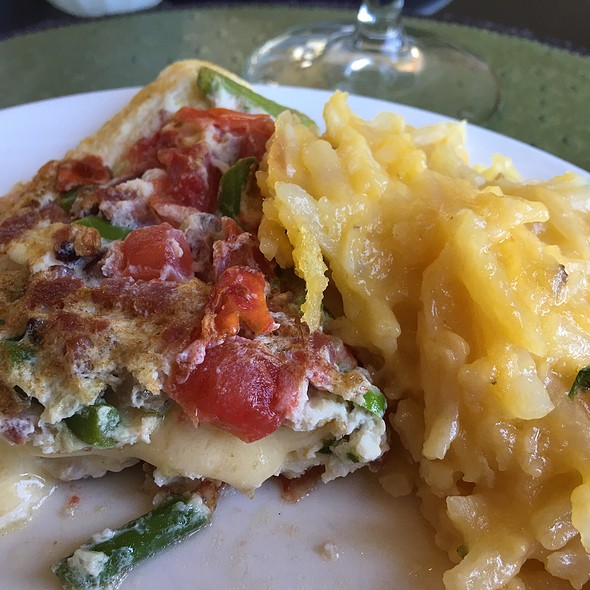Omelet And Potato Casserole - Caretta on the Gulf at the Sandpearl Resort, Clearwater Beach, FL