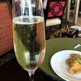 bubbly bubbly!! - Caretta on the Gulf at the Sandpearl Resort, Clearwater Beach, FL