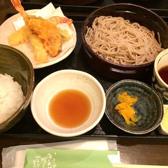 Tempura & Soba @ 笹陣 渋谷店 そば酒房
