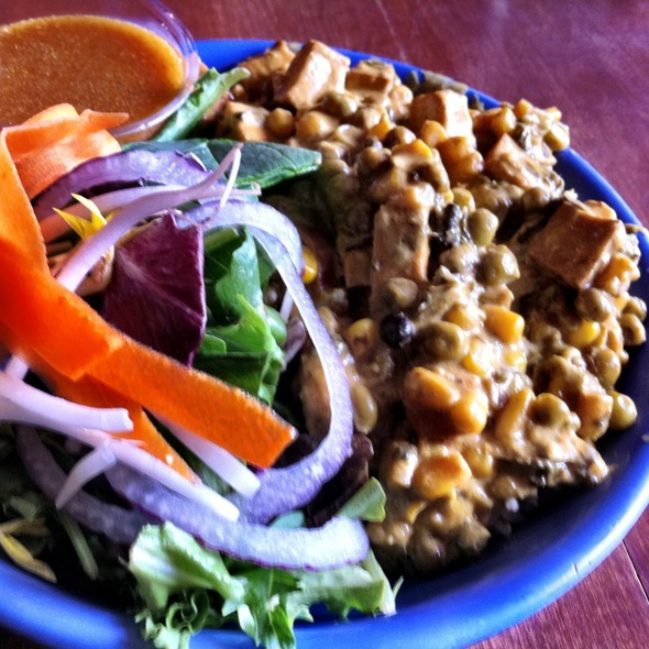 Coconut Curry Plate @ Rosetta's Kitchen