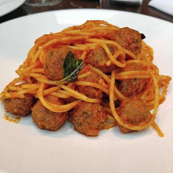 Spaghetti & Meatballs @ Otto Enoteca & Pizzeria
