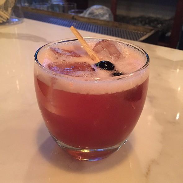 Blue Grass Romance Cocktail @ Rosewater