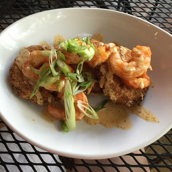 Bbq Shrimp And Fried Green Tomatoes