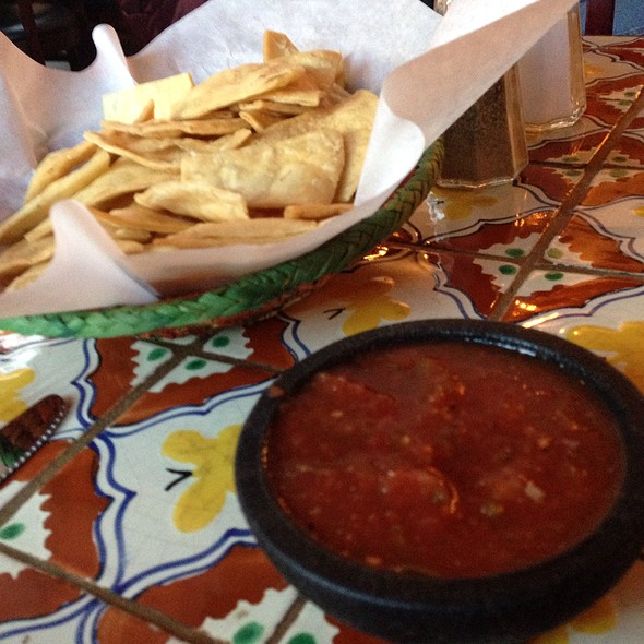 Chips and Salsa @ Casa Chimayo Restaurant