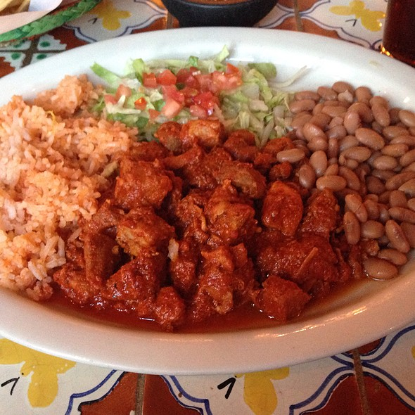 Pork Red Chili @ Casa Chimayo Restaurant