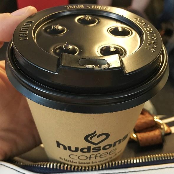 Latte @ Hudsons Coffee