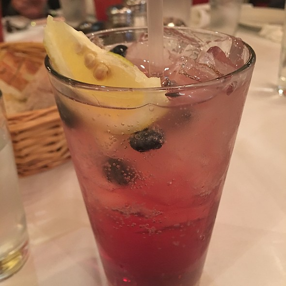 Blueberry Lime Soda - Carmine's - 44th Street - NYC, New York, NY