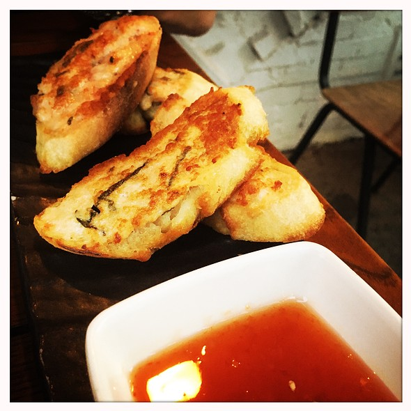 Shrimp Toast @ Salt + Charcoal