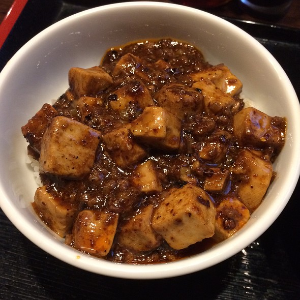 Mini Ma Po Tofu Over Rice @ 炎麻堂 三軒茶屋店