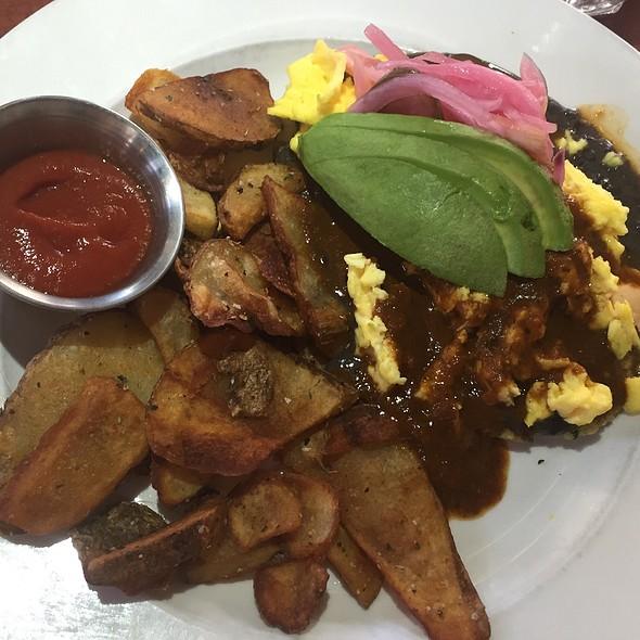 Breakfast Arepa @ City O' City