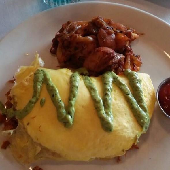 Ancho Tinga Omelette - Jake's Grill - Portland, Portland, OR